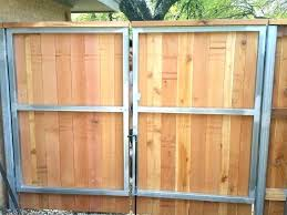 chain link fence double gate. Lowes Chain Link Fence Gate Wood Fencing Consideration Double