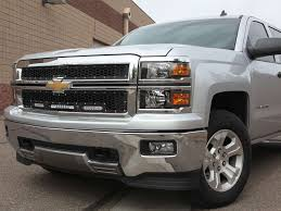 2014-2015 Chevy Silverado Z71 Grille Black | Rigid Industries