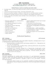 Resume For Accounting Manager Sample Resume Account Manager Fast