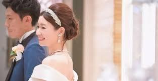 花嫁髪型カチューシャでかわいいヘアアレンジ特集 みんなの