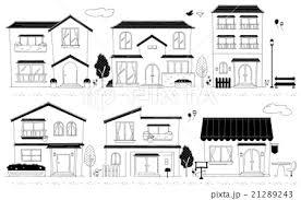 家のイラストのイラスト素材 21289243 Pixta
