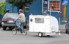 Bike Camper Trailer Bicycle Camper Creative Ideas Elkins Diy