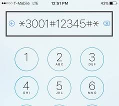 how to access db cell signal on iphone step 2