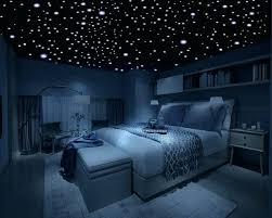 Kids Star Bedroom Glow In The Dark Stars Realistic Low Profile Dots Bedroom  Eyes Cast