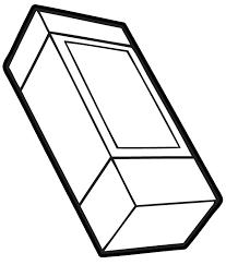 eraser clipart black and white. Delighful Clipart Eraser Clipart Black And White  ClipartFest On Clipart Black And White D