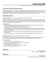 Bank Customer Service Representative Resume Sample Resume Sample