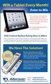 win a tablet every month allanson corporate