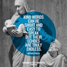 Random Acts Of Kindness Kindness Quote Kind Words Can Be