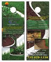 Landscaping Lawn Care Business Cards Door Hangers Postcards Web