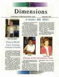 Newsletter Dimensions 2001-09_001 - Seneca County Digital Library -