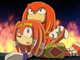 Knuckles y Tikal