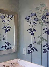 large wall stencils for paintingFlower stencil large stencil designs for DIY decor stencils for