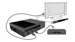 connect xbox one to your home theater or sound system xbox one connected to cable or satellite box sound bar and tv