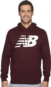 New Balance Mens Essentials Pullover Hoodie At Amazon Mens