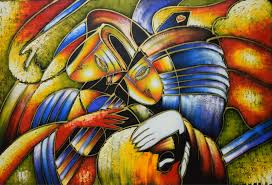 world famous paintings picasso abstract painting play the guitar hand painted modern oil painting on canvas wall art picture in painting calligraphy from