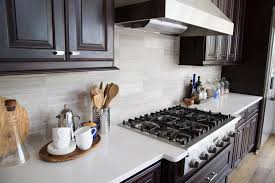Tile Backsplashes With Granite Countertops Stunning When To Use A Natural Stone Backsplash And When NOT To DESIGNED