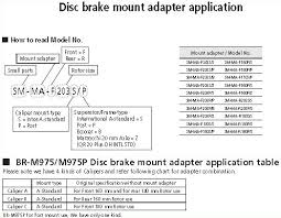 Disc Brake Adapter Chart Disc Brake Rotor Size Chart Bedowntowndaytona Com