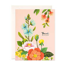 Thank you card images Card Wording Light Pink Floral Thank You Card Joojoo Paper Light Pink Floral Thank You Card Joojoo Paper