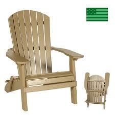 newport beach folding adirondack chair poly free made in usa