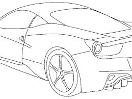 Ferrari Coloring Pages To Print Coloring Pages Of Coloring Page La