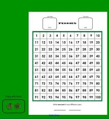 Teaching Coin Money Value With Hundreds Charts Smart Board Component