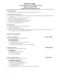 example of restaurant resume 3 describe your server experience with numbers restaurant resume