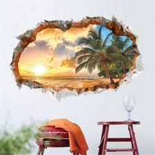 Palm Tree Bedroom Decor Popular Beach House Wall Decor Buy Cheap Beach House Wall Decor