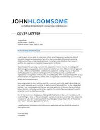 cover lettter 283 cover letter templates for any job