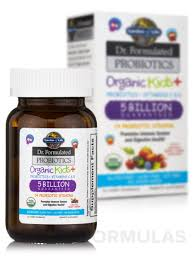 dr formulated probiotics organic kids 5 billion cfu berry cherry flavor 30 chewables