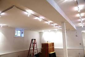 lighting for basement ceiling. Open Ceiling Lighting Basement Ideas Office For U