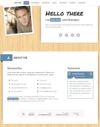 myResume Responsive cv template One-Page