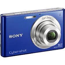 sony camera cybershot. sony cyber-shot w330 blue 14.0mp digital camera with 4x optical zoom cybershot