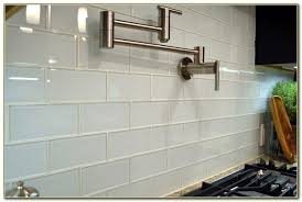 clear glass subway tile backsplash tiles home