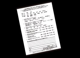 アンケート用紙印刷チラシ印刷フライヤー印刷印刷通販のフデビン