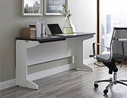 modern office credenza. Attractive And Enduring Office Credenza: White Credenza Computer Desk With Modern Chair Also