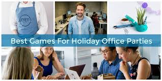 Fun Holiday Party Games For Work Office Parties
