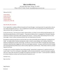 Awesome Collection Of Brilliant Sample Resume Cover Letter Format