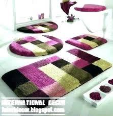modern bath rugs contemporary bathroom rugs amazing home fascinating modern all modern bath rugs