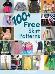Free Skirt Patterns Gorgeous 48 Free Skirt Patterns Round Up The Sewing Loft