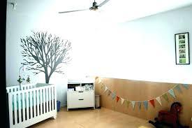 ceiling fan in baby room safe