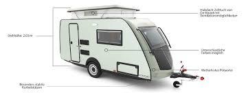 Kip Kompakt Besonders Leichter Wohnwagen Mit Hubdach