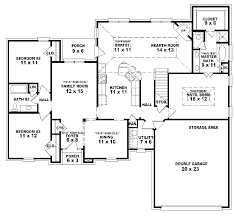 house plans one story.  Story One Story 4 Bedroom 3 Bath House Plans 2 1 Floor  Throughout