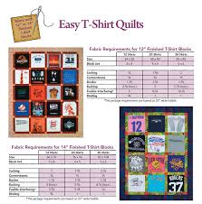 Free T-Shirt Quilt Instructions | Easy T-Shirt Quilts | cdafts ... & Free T-Shirt Quilt Instructions | Easy T-Shirt Quilts Adamdwight.com