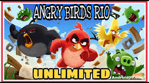 Angry Birds Rio Unlimited Money Unlimited Power Ups-MOD APK 2.6.10 ...