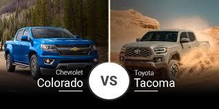 2020 chevy colorado vs 2020 toyota taa