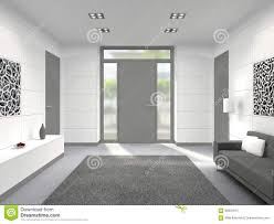 Image Upvc Fictitious 3d Rendering Of Modern Lobby Interior With Front Door Dreamstimecom Modern Interior With Front Door Stock Illustration Illustration Of