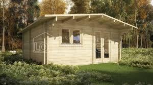 ... Dublin One Bed Studio Log Cabin Exterior
