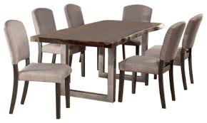 102039 emerson rectangle 7 piece dining set