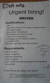 Fast Learners Guide Bit Mfg Laguna Technopark Job Hiring