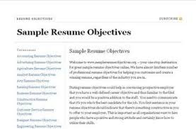 Resume Objective Examples For Healthcare Impressive Great Objectives For Resumes Best Of 48 Entry Level Healthcare